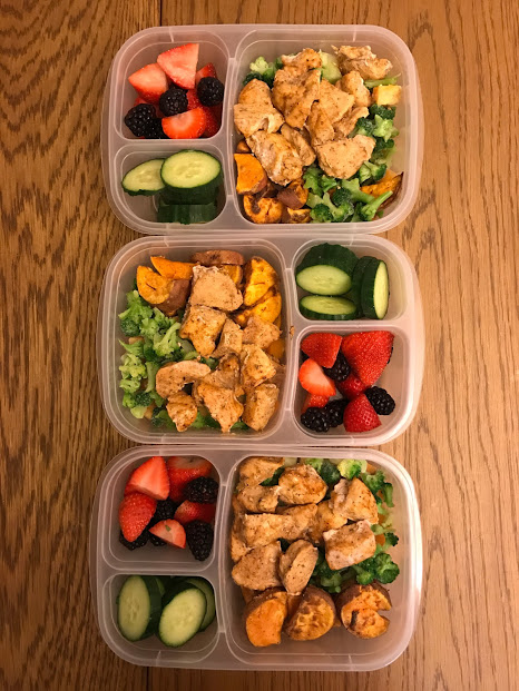 Spiced Chicken and Sweet Potato Meal Prep
