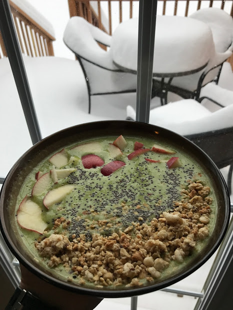 Snow Day Smoothie Bowl